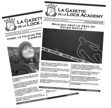 On parle de la Lock Academy dans la presse !