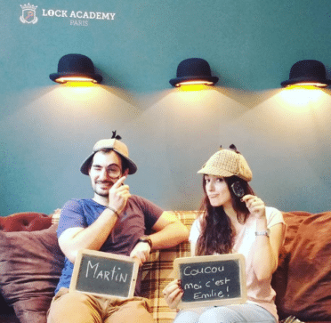 Emilie et Martin, détectives à la Lock Academy