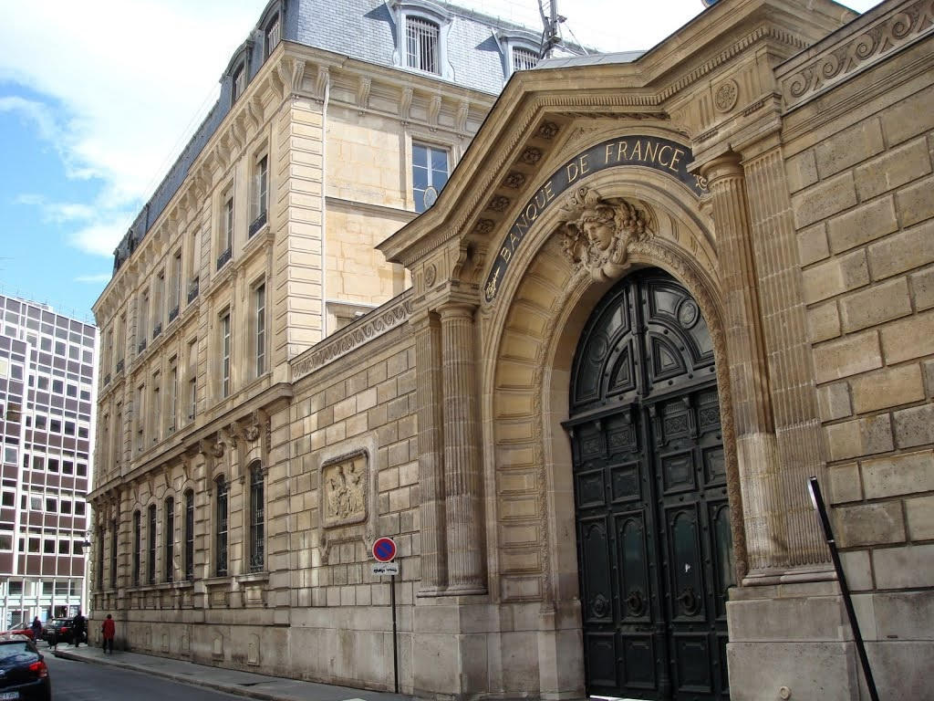 La Banque de France à proximité de la Lock Academy Escape Game Paris