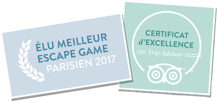 Escape Game Paris Lock Academy Certificat d'excellence TripAdvisor