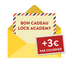 Bon cadeau Escape Game Paris - Coffret cadeau Escape Game Paris Lock Academy