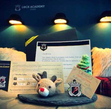 Coffret cadeau escape game - Bon cadeau noel escape room Lock Academy