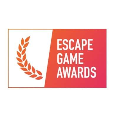 Logo des Escape Game Awards - Prix créé par Escape Game Paris