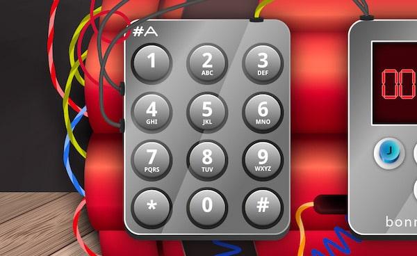 Jeu 1 Escape Game - Trouver le code du digicode
