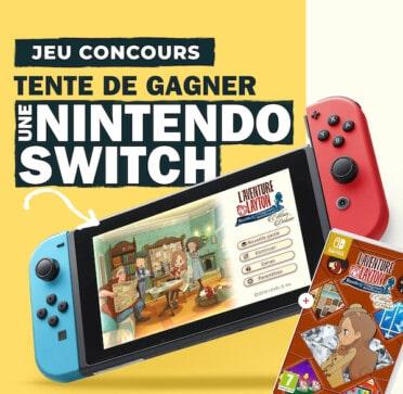 Jeu concours Nintendo Switch pour la rentrée 2021